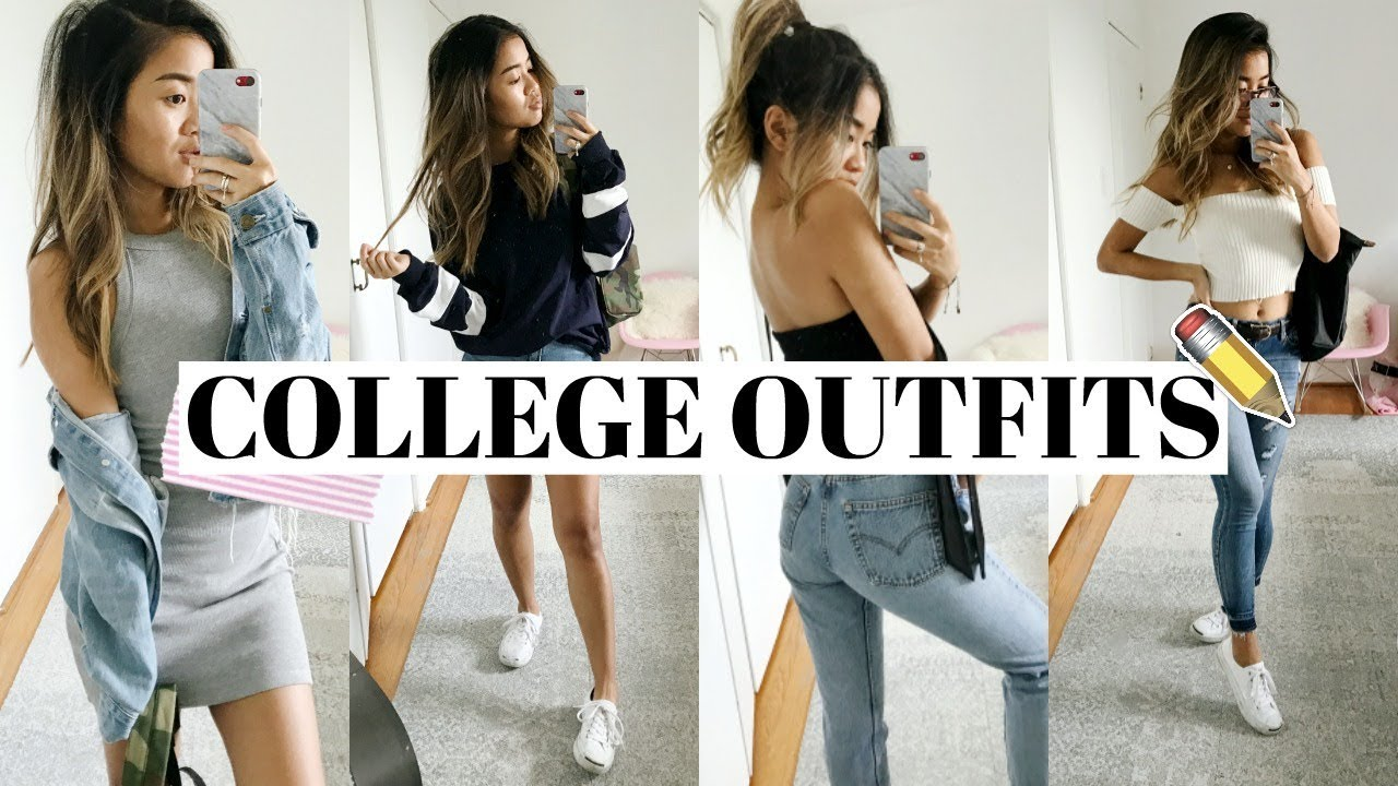 CUTE COLLEGE OUTFITS  rachspeed