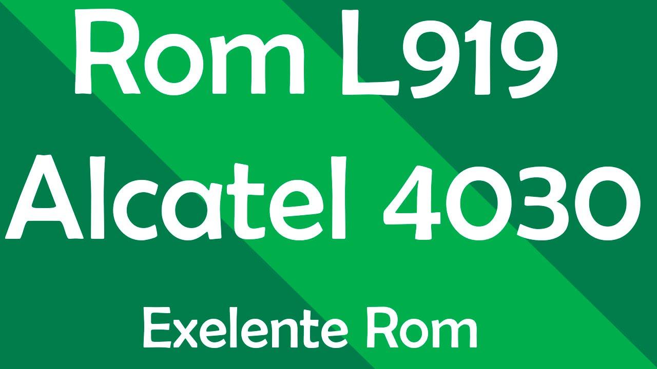 Rom L919 V2 Alcatel 4030