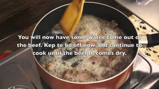 Ethiopian Food - Derek Dereq Beef Tibs Recipe - Amharic English Injera Kitfo Berbere