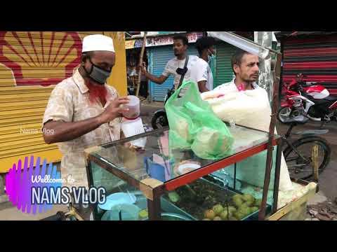 Potato, Eggs & chola tasty Jhalmor।Bangladeshi street food। Nams Vlog