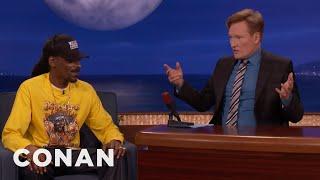 Conan Had To Get Snoop Dogg His Own Trailer  - CONAN on TBS