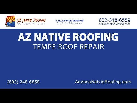 Tempe Roof Repair | AZ Native Roofing