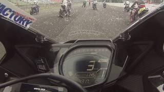 大ピンチ!【4気筒250に挑む2気筒250】 新型CBR250RR 決勝レース・不安定な天候に惑わされた結果・・・