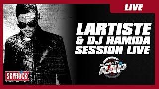 Session live de Lartiste & DJ Hamida dans Planète Rap #Maestro