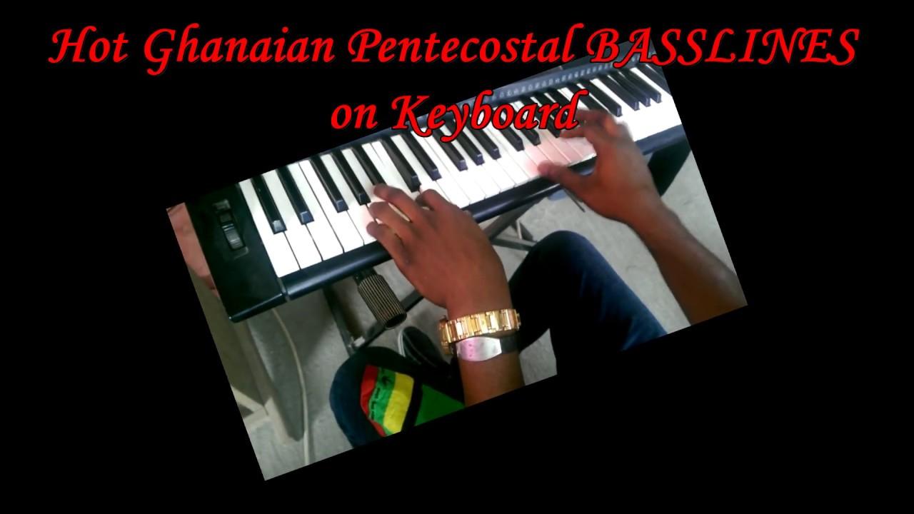 Hot Ghanaian Pentecostal Praise Basslines on Keyboard