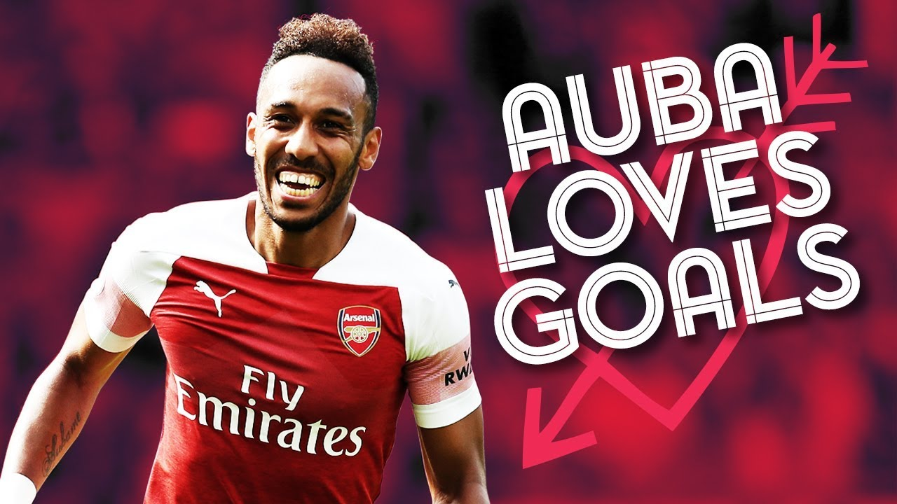 All 10 Of Aubameyang S Goals So Far This Season 2018 19