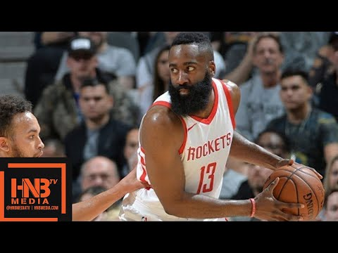 Houston Rockets vs San Antonio Spurs Full Game Highlights / Feb 1 / 2017-18 NBA Season