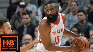 connectYoutube - Houston Rockets vs San Antonio Spurs Full Game Highlights / Feb 1 / 2017-18 NBA Season
