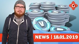 Fortnite: Money laundering with V-bucks? Mortal Kombat 11: Brutal Gameplay! | GW-NEWS