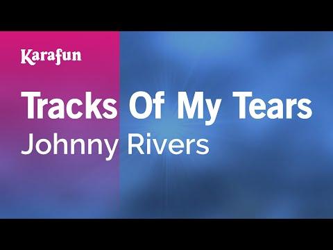 Karaoke Tracks Of My Tears - Johnny Rivers *