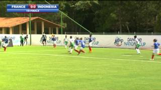 France vs Indonesia - 1/8 Final - Highlights - Danone Nations Cup 2014