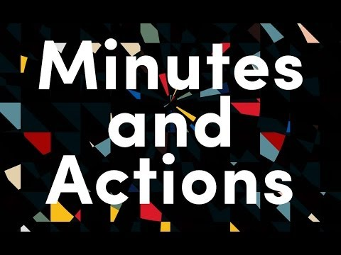"Monochrome — ""Minutes and Actions"""