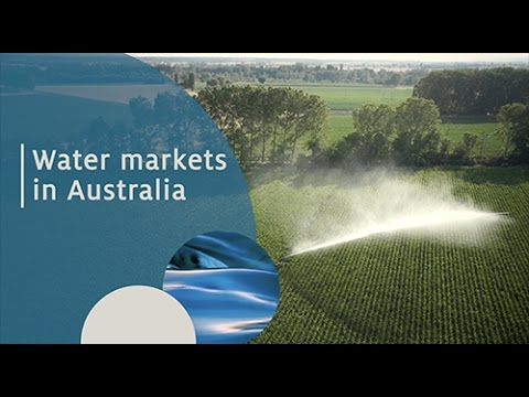 Learn about Australia's water markets