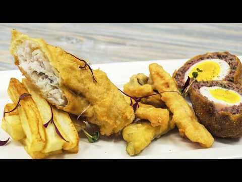 Frying With Chef Kabelo In The Anvil Kitchen