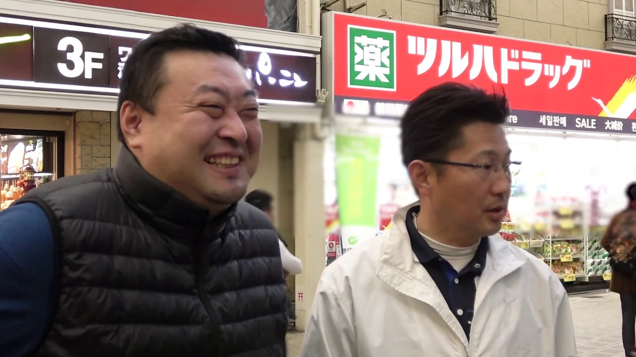 若者の政治意識調査 街角インタビュー in大阪