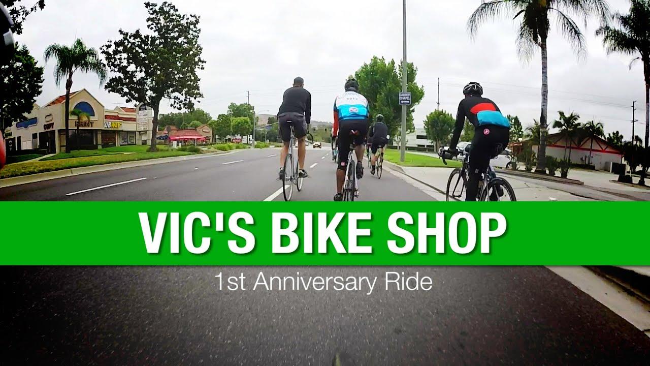 Vic s bike shop st anniversary ride youtube