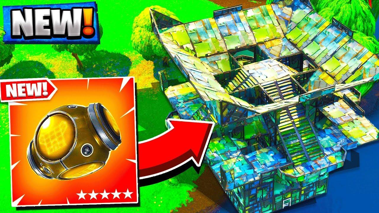 Legendary New Port A Fortress Item Fortnite Battle Royale Update