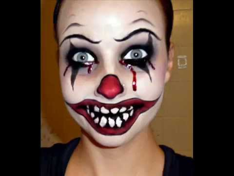 Halloween Series 2011: Killer Clown Makeup Tutorial - YouTube