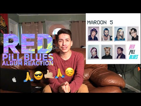Maroon 5- RED PILL BLUES (Album)|(Reaction)