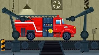 Car Garage And Service | Toy Factory | Fire Truck