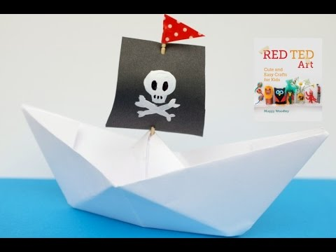 How to make a boat out of paper origami