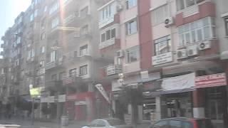 Турция Город Анталия(Турция Город Анталия, видео из окна автобуса по дороге в аэропорт., 2012-07-10T04:37:31.000Z)