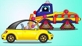 Трансформер вездеход Пома - Добрые мультфильмы для малышей