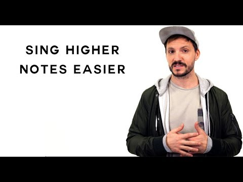 Singing Tips - Sing Higher Notes Easier