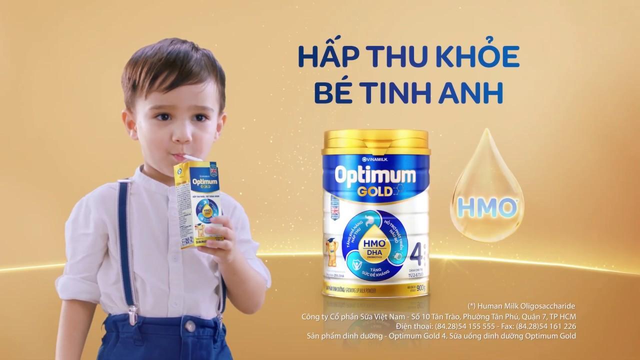 OPTIMUM GOLD GIÚP HẤP THU KHỎE, BÉ TINH ANH VỚI DƯỠNG CHẤT VÀNG HMO