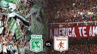 Atlético Nacional 2 vs 2 América de Cali   Partido completo 18/10/2020