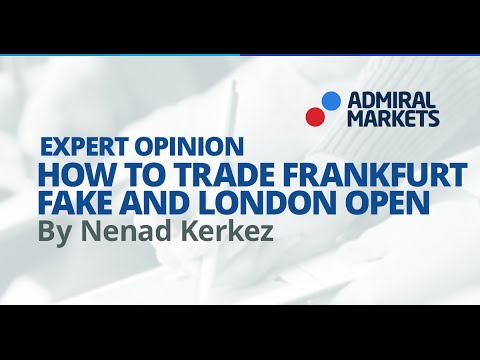 How to trade Frankfurt fake and London open (Jul 28,2016)