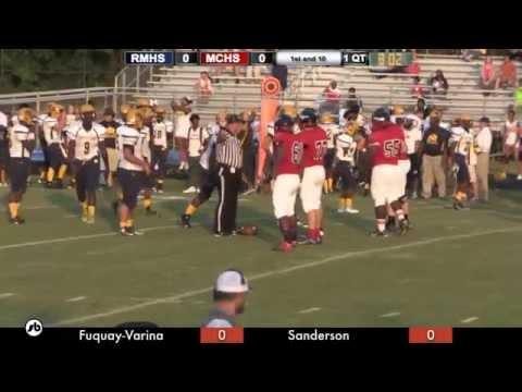 Rocky Mount vs MCHS Football - 08-28-2015