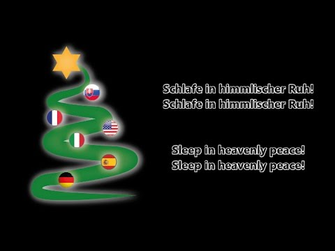 Stille Nacht Heilige Nacht Silent Night De En Lyrics Youtube
