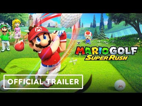Mario Golf Super Rush – Official Announcement Trailer | Nintendo Direct