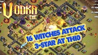 Clash of clans all witches attack eposide 2 - The power of skeletons