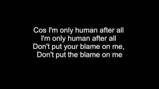 Rag N Bone Man Human Lyrics