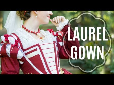 Laurel Gown: 16th century Venetian Dress Diary