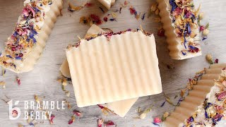 How to Make Wildflower Rebatch Soap