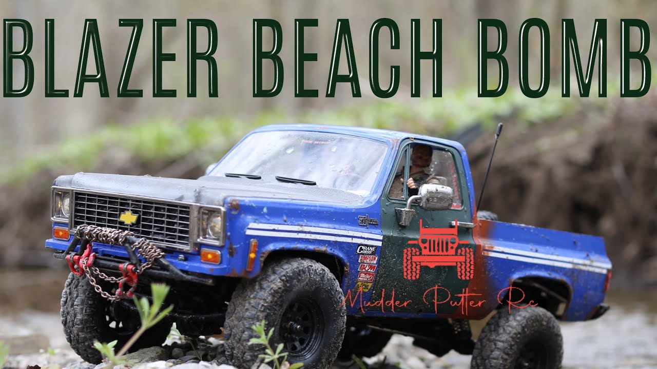 Scx Blazer Beach Bombing!