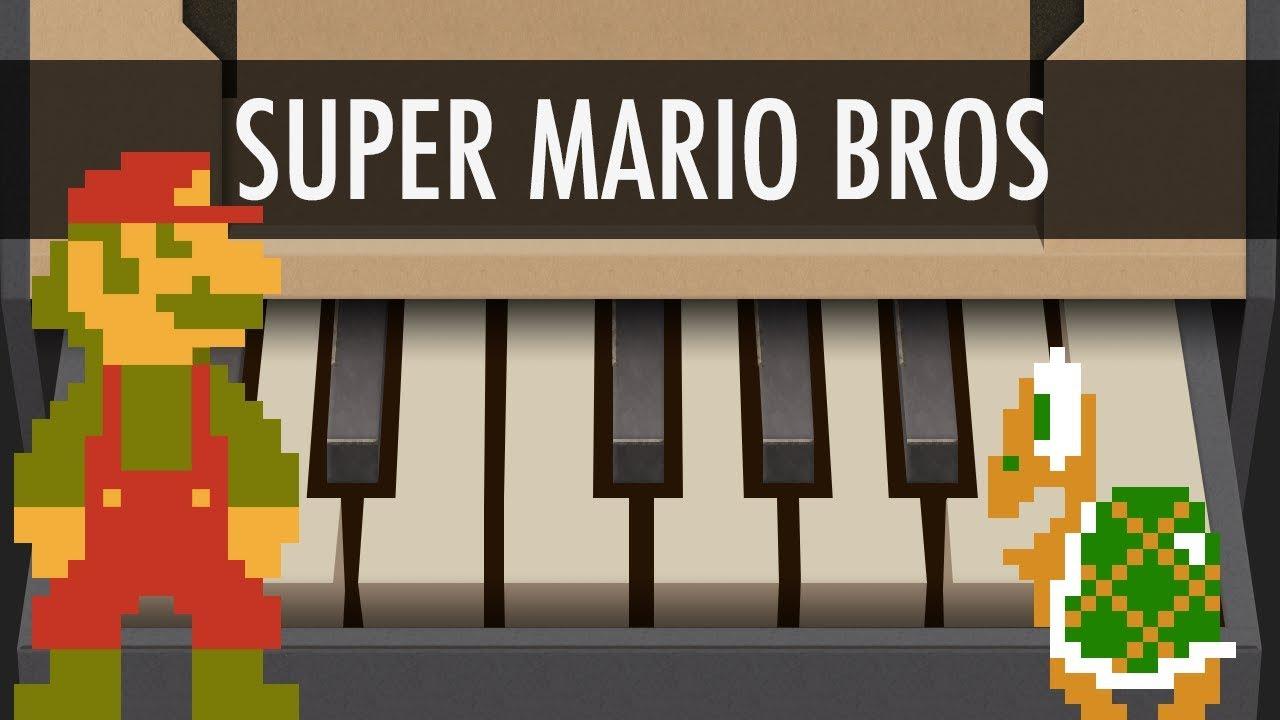 Super Mario Bros - NINTENDO LABO Piano Songs - Cover - Tutorial