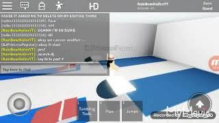 Roblox gymnastics | random vid (read desc)