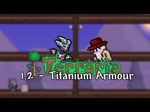 Terraria 1.2 - Titanium Armour - ChippyGaming - Terraria WIKI