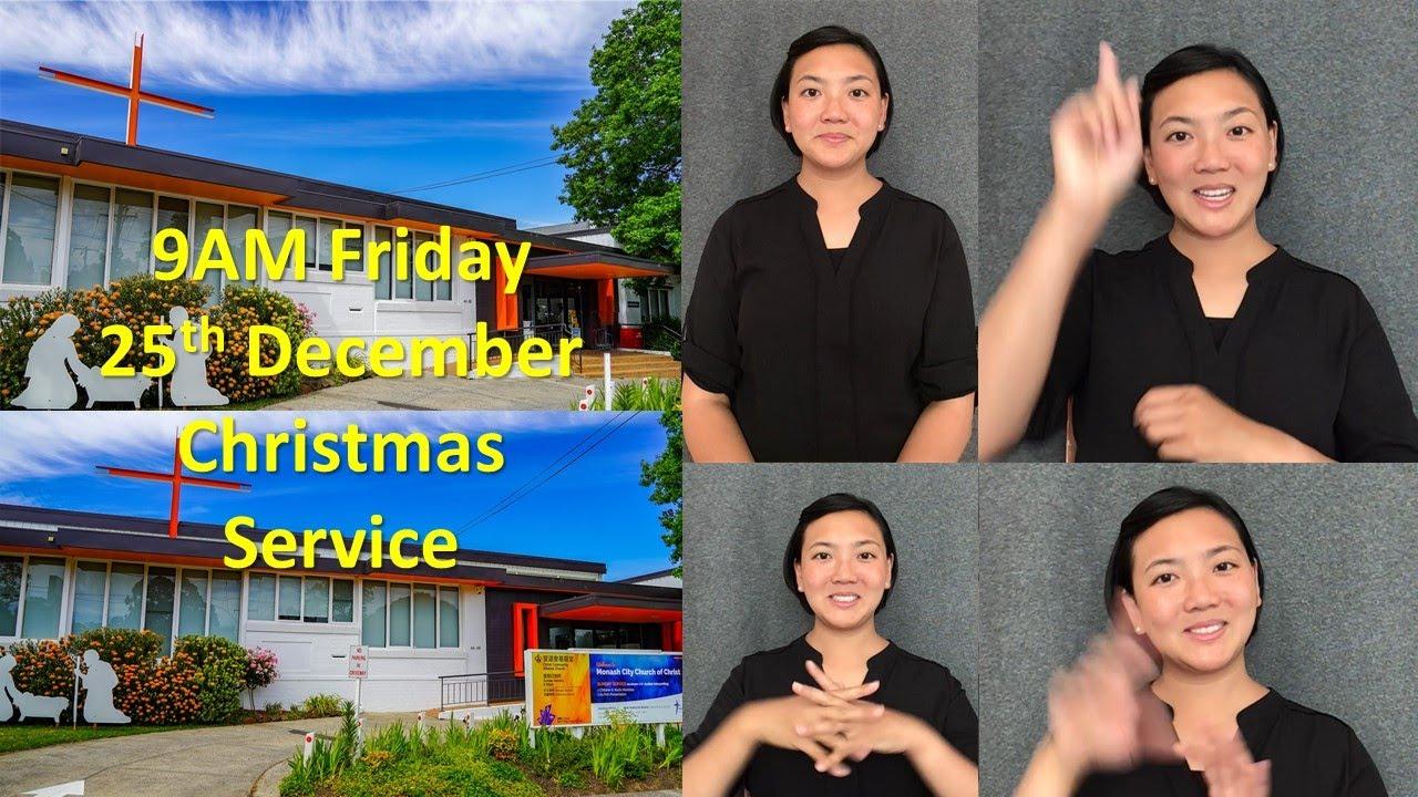 Dec 25th Christmas Service