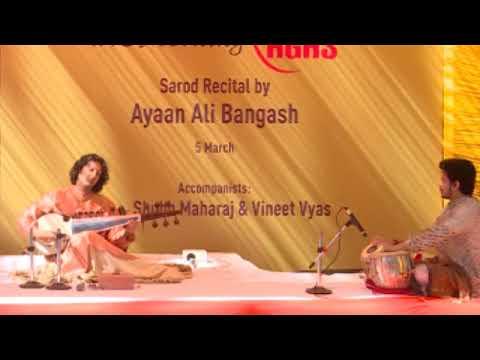 A Beautiful Traditional Morning Ragas Raag Lalit Sarod Recital by AYYAN ALI Bangash