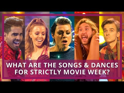 Strictly Movie Week Songs & Dances Preview