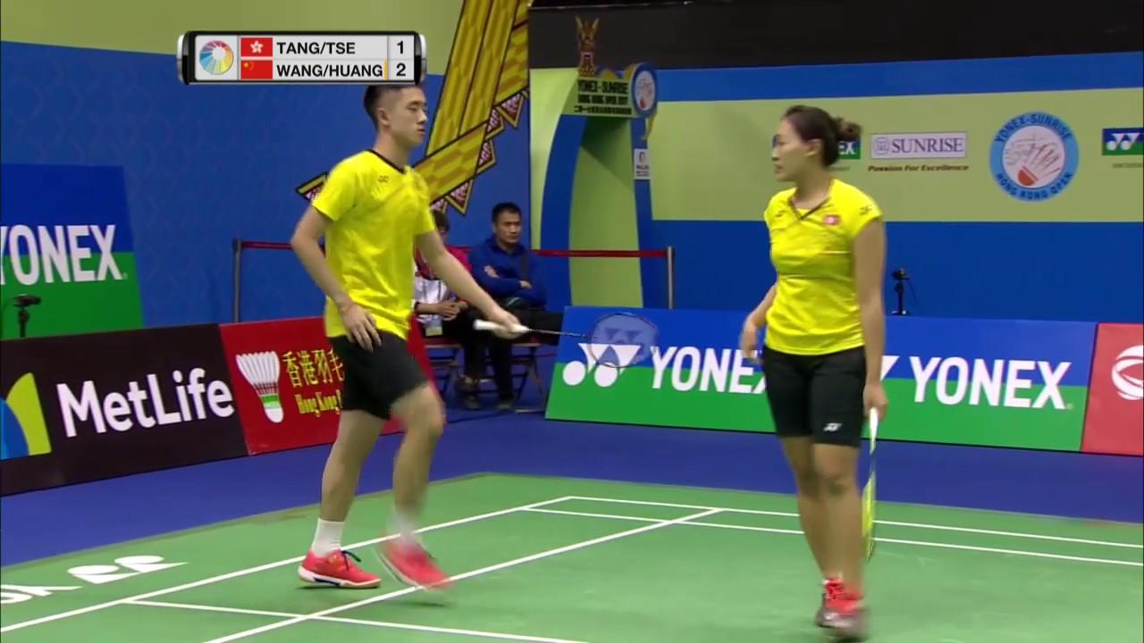 Yonex Sunrise Hong Kong Open 2017 Badminton QF M3 XD