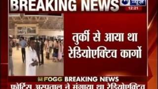 Radioactive leak detected at Indira Gandhi International Airport in Delhi