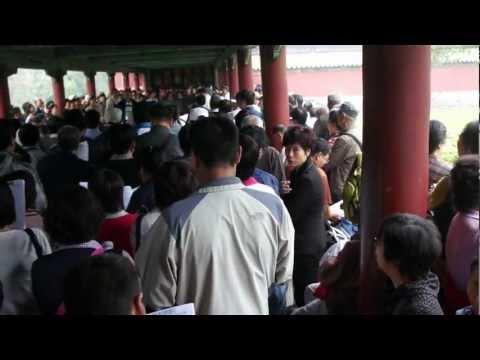 CHINA TRAVEL HD : The Temple Of Heaven Beijing, Volkszang