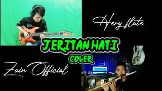 Jeritan hati cover dangdut | Hery flute ft Zain Official