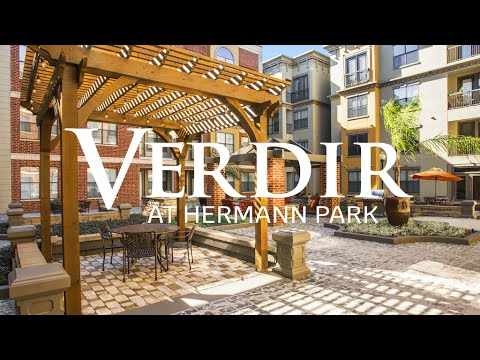 Living In Houston At Verdir At Hermann Park | Houston Apartments Video Tour
